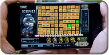 Smartphone Keno Games